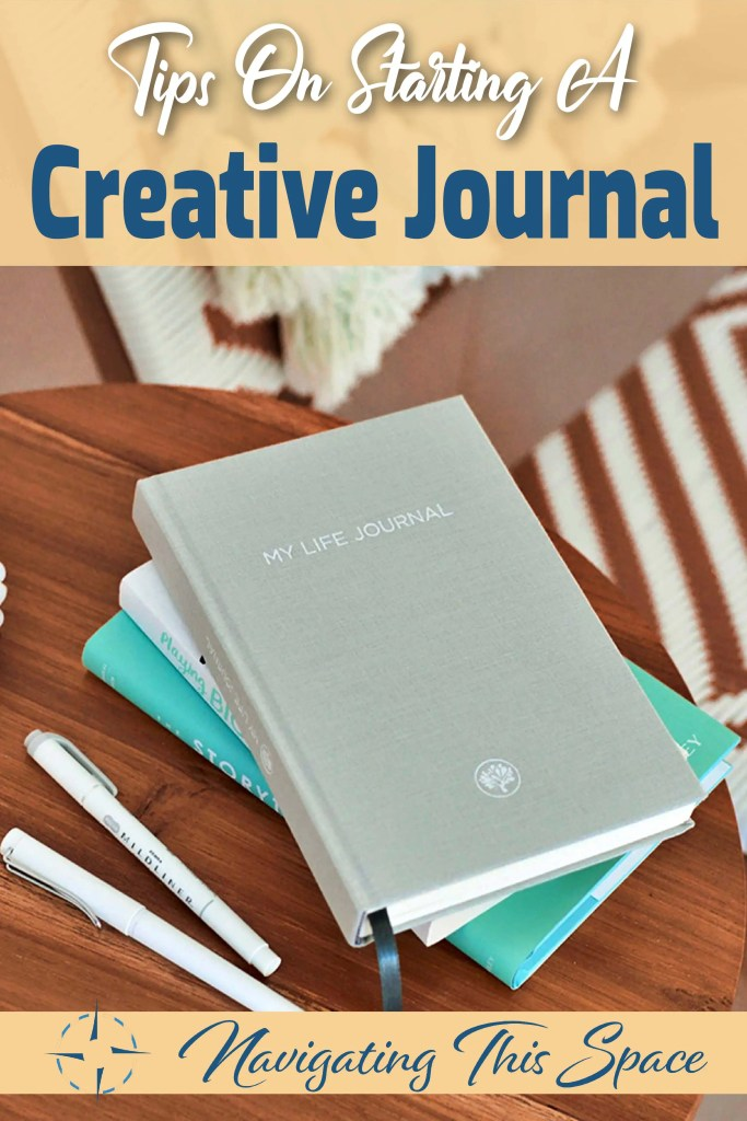 Tips on starting a creative journal