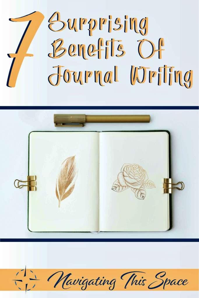 7 Surprising benefits of journal writing