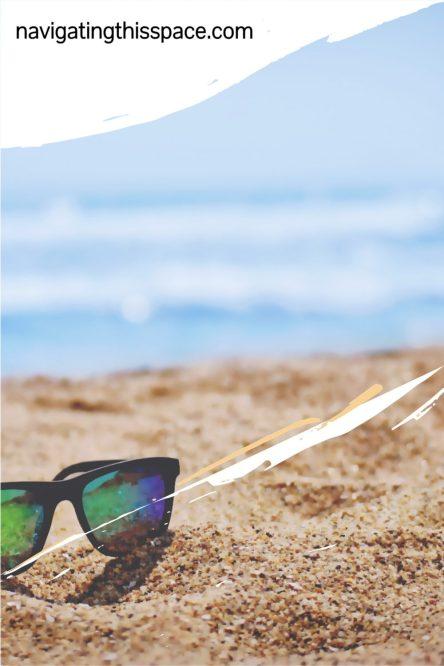 shades on the the beach