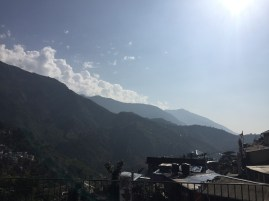 Dharamsala, taken from the Bogdo Cafe's patio