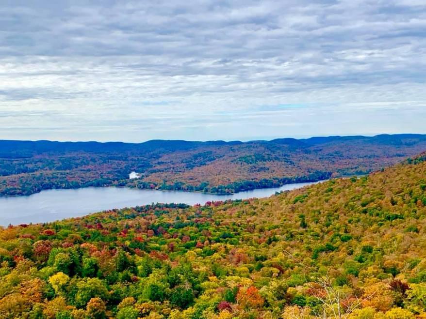 Adirondacks, fall foliage in the US
