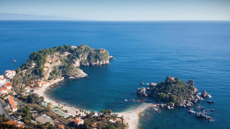 best beaches, isola bella