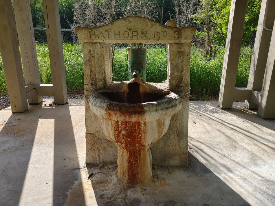 hathron No. 3 Spring, saratoga spa state park