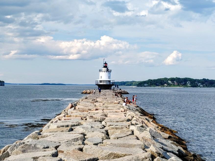 Spring Point Lighthouse, Maine Lighthouses