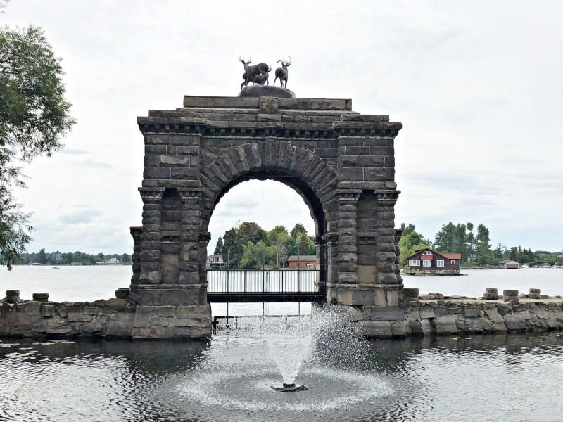 Arch, Boldt Castle, Thousand Islands