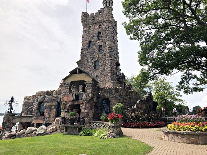 Alster Tower. Boldt Castle. Thousand Islands.