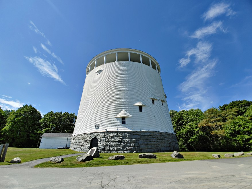 the Thomas Hill Standpipe, Bangor Maine, real life Derry