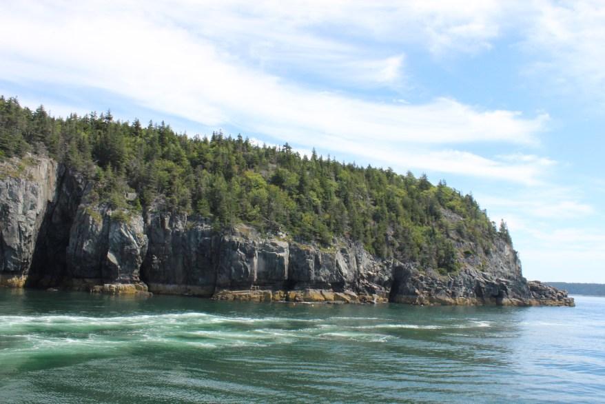 Shoreline, Bar Harbor Maine