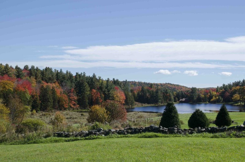 Berkshires. Fall Foliage in the US