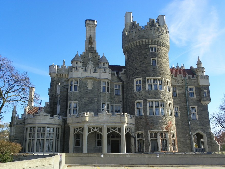 Casa Loma, Canada spookiest destinations