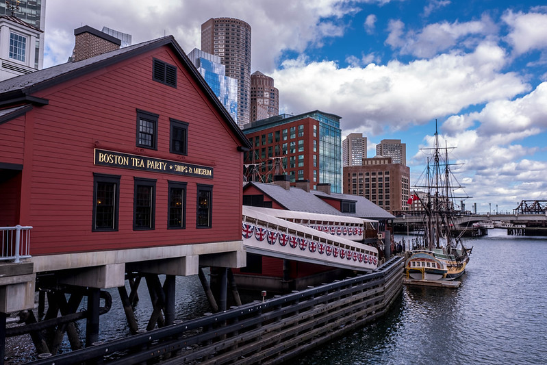 Boston Tea Party Museum.