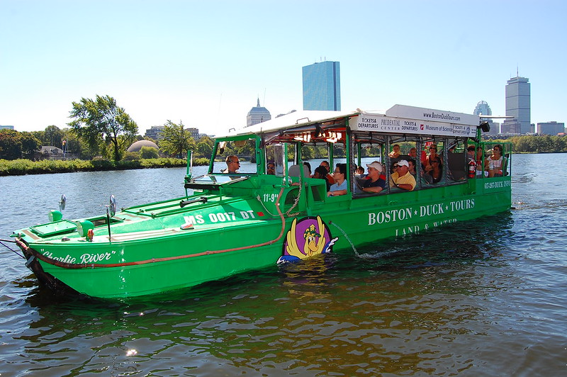 Boston Duck Tours, Boston with Kids.