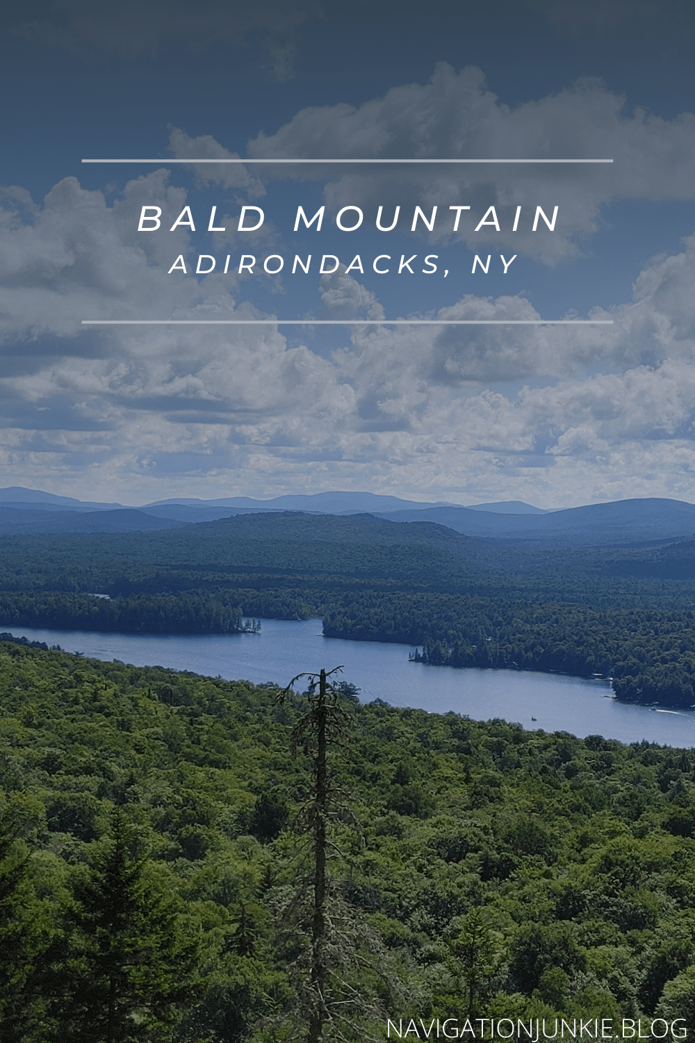 A rocky paradise sitting in the Adirondacks, hiking Bald Mountain is the perfect way to spend a morning or afternoon alone or with the family