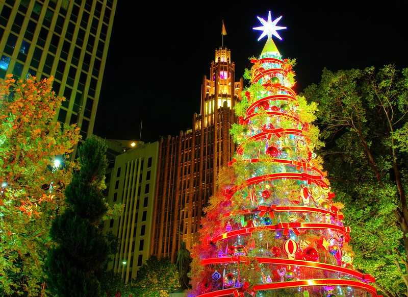 Explore these destinations around the globe that are aglow with Christmas cheer, delicious treats, family fun activities, and shopping.
