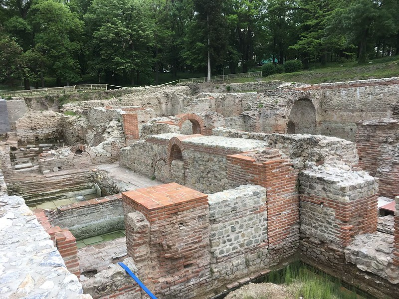 Roman Baths, Hisarya, best hot springs for families in Europe