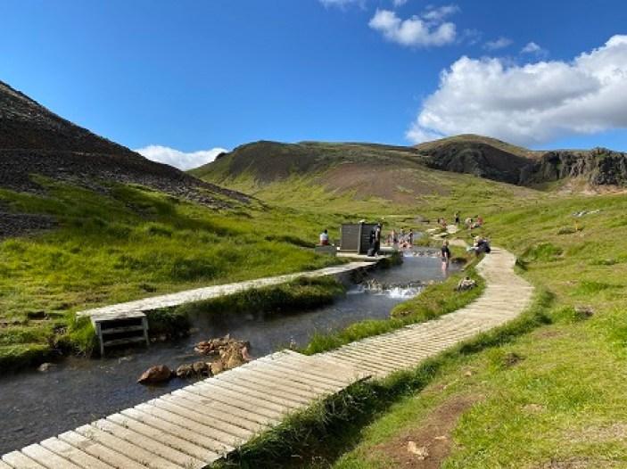 Reykjadalur Hot River