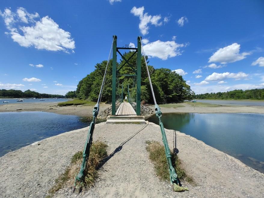 The Wiggly Bridge, stop on Maine Coast Road trip