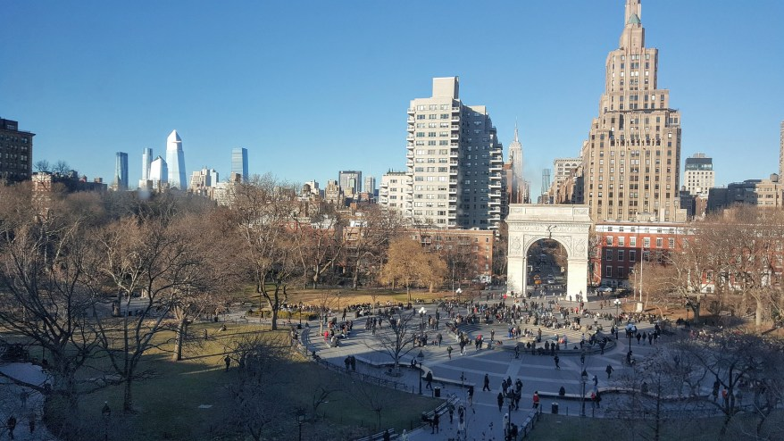 Washington Square Park, best parks in NYC