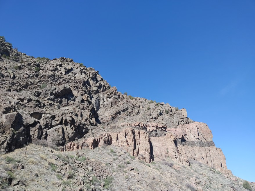cliffs of the royal gorge.