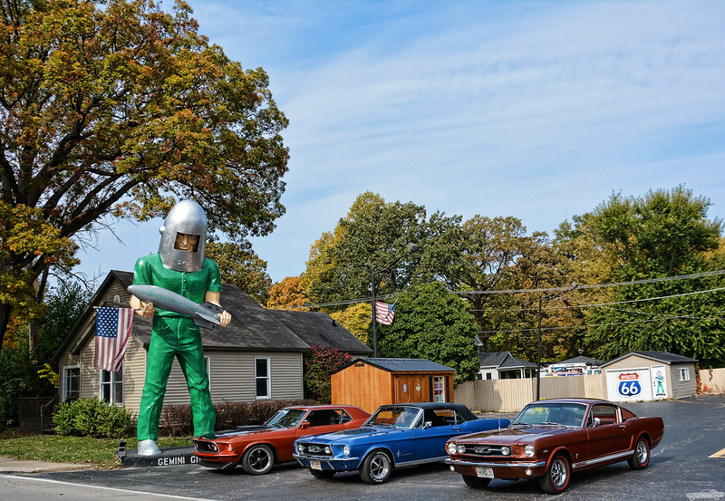 The Gemini Giant, family friendly journey along route 66