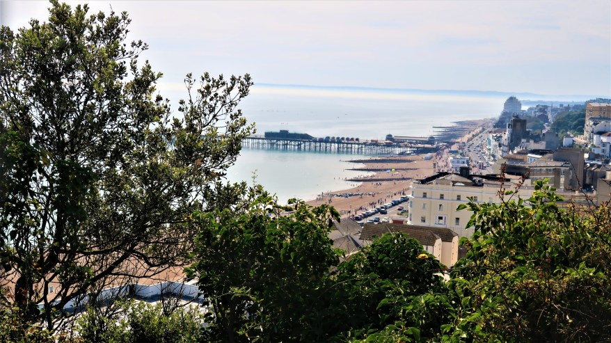 beach in Hastings, family friendly cities in England