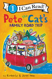 travel books to inspire wanderlust in kids: Pete the Cat's Family Road Trip