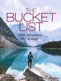 travel books to inspire wanderlust in kids: he Bucket List