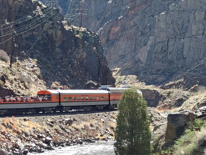 the royal gorge railroad near Colorado Springs with kids
