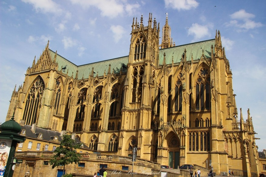 the metz cathedral, family friendly cities in France