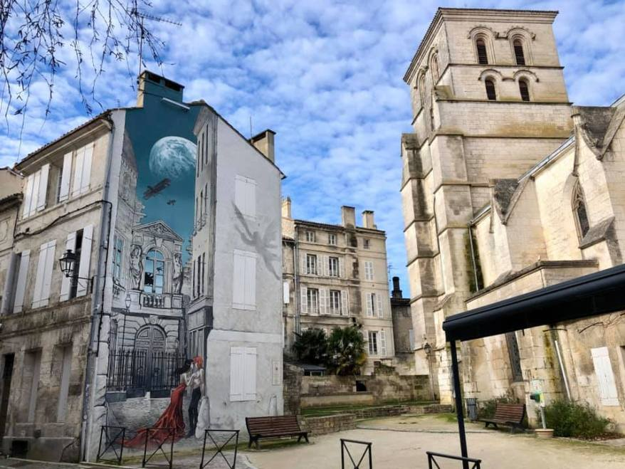 street art in Angoulême, family friendly cities in France