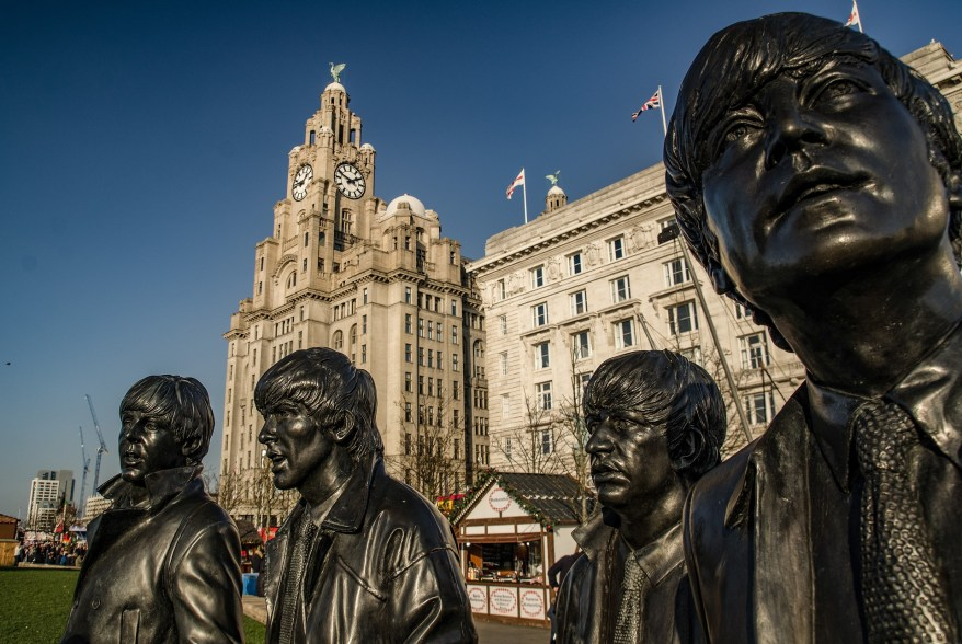 statue of the Beatles, Liverpool