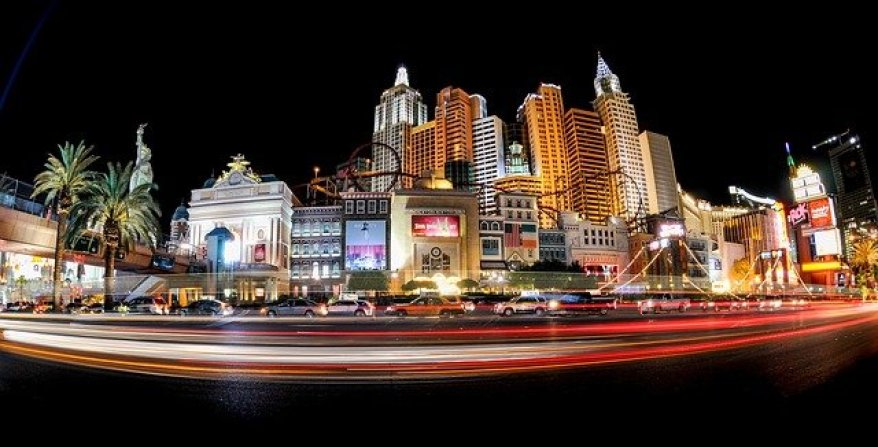 las vegas strip, best places to visit in the us