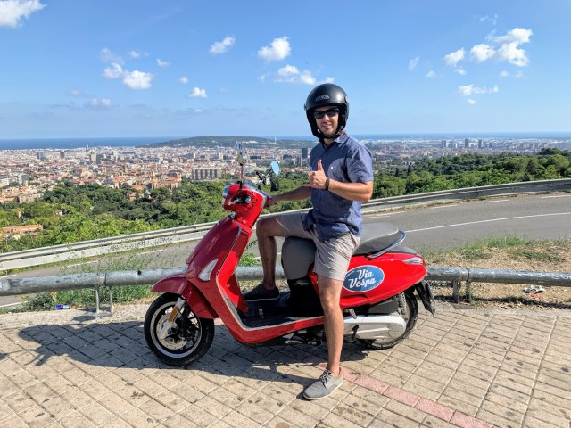 Via Vespa Scooter Rental, Barcelona, Spain