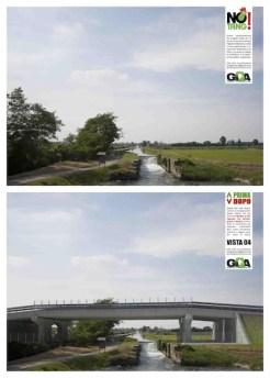 Ponte autostrada naviglio Bereguardo
