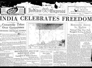 15 August 1947 Indian Express