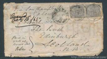1865 NYNEETAL Post card