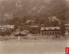 Cricket Match in Nainital -1899