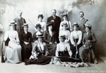 1900 The Ladies Rook Rifle Club, Naini Tal