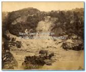 1880 Landslide Nainital rare photo