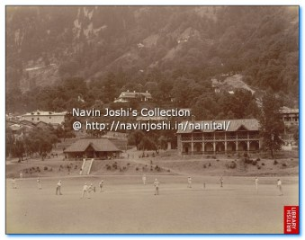 1899 cricket match in Flats