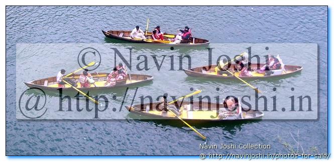 Boating in Naini tal