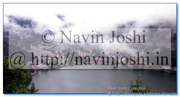 Natural Beauty in Nainital During Rains