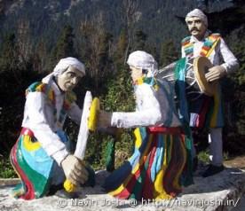 Chholiya statue