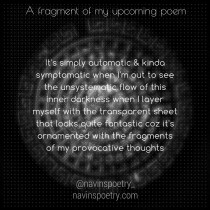 A fragment of my upcoming poem