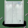 Phòng tắm kính 180 độ