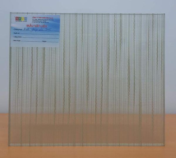Kính ghép vải F02