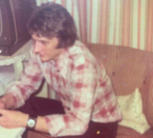 Helge Nielsen fotograferet omkring 1975. Fotograf ukendt.