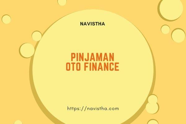 pinjaman oto finance