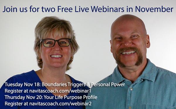Two Free Live Webinars