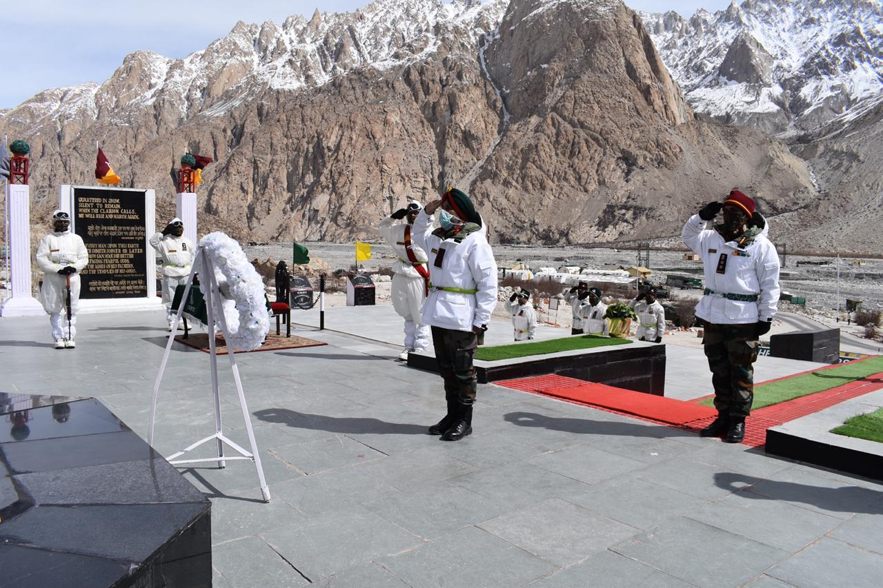 Indian Army observes 36th Siachen Day, remembers gallant martyrs ...
